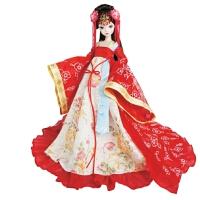 手工唐韵佳人中国新娘古装配饰婚庆礼