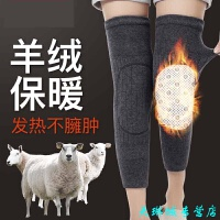 护膝保暖 老寒腿男女士膝盖理疗关节仪四季自发热护腿漆防寒炎 羊绒发热护膝