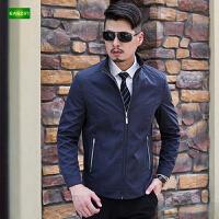 逸纯印品(EASZin)夹克衫男士外套男中年立领休闲t薄款2016春季新款男装潮