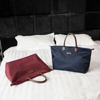 折叠旅行包女手提行李袋大容量防水旅行袋简约单肩包男行李包潮