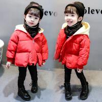 ����羽�q公主女童�b冬季棉�\�和�冬�b外套
