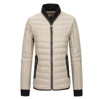 秋冬短款羽绒服女 韩版修身大码立领外套显瘦时尚潮