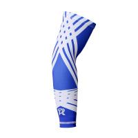 新品幻影蓝护臂篮球运动护具防晒手袖加长超薄款袖套男女夏 幻影蓝无蜂窝护臂