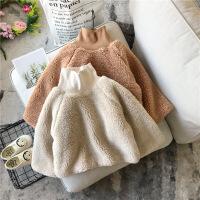 童装秋冬女童卫衣儿童加绒洋气套头衫宝宝保暖上衣