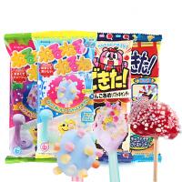 日本进口食玩网红糖果嘉娜Kracie宝可利斯儿童零食DIY手工玩具