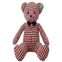 公仔大号可爱布娃娃格子熊毛绒布艺类玩具玩偶