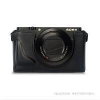 索尼SONY LCS-LCRX相机包 RX100 RX100M2 RX100M3黑卡相机套