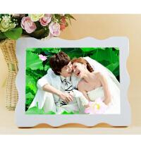 36寸水晶相框挂墙8婚纱照摆台7儿童制作照片相片放大24韩式创意