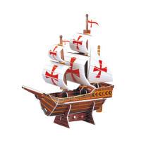 古代战船3D立体纸模型拼图 儿童益智玩具 航海世纪T4001h