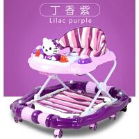 儿童学步车7-18个月宝宝学行车带音乐男孩女孩可折叠手推