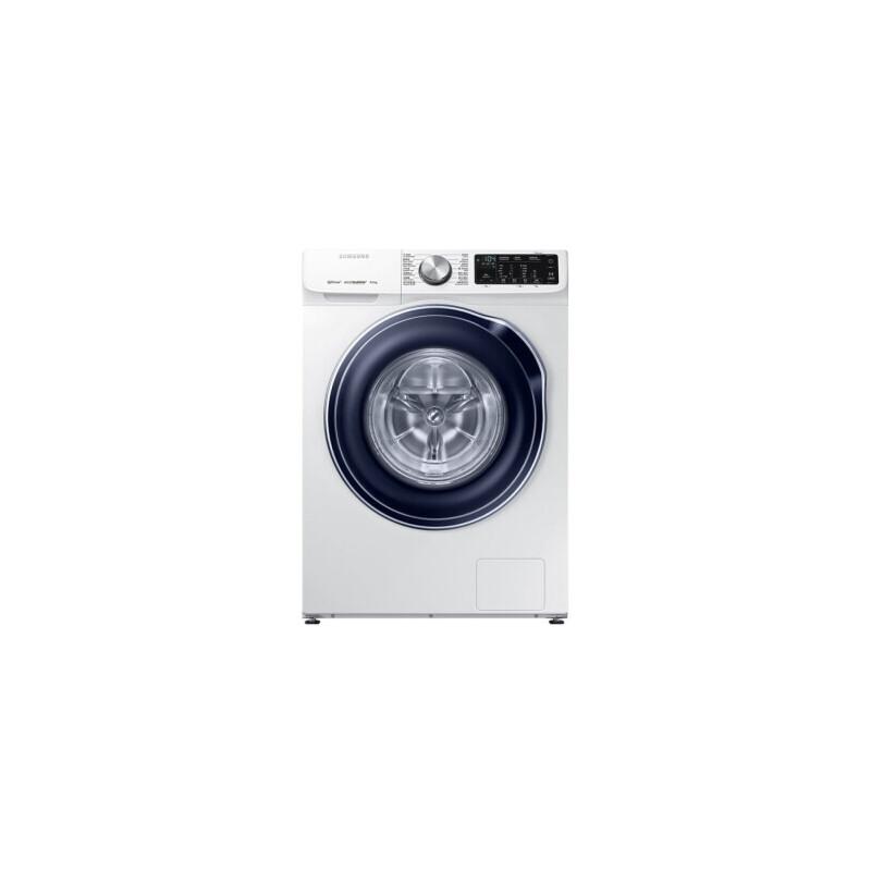 三星(SAMSUNG)9公斤洗衣机全自动超快洗易熨烫 智能APP双驱双电机 WW90M64FOBW 双驱内筒技术 省时静音 智能APP 简单操作