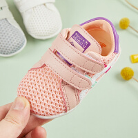 儿童网鞋男夏季1-3岁女宝宝透气学步鞋镂空小白鞋运动鞋春秋