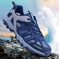 夏季登山鞋情侣透气溯溪鞋户外网鞋越野跑鞋防滑涉水鞋速干徒步鞋