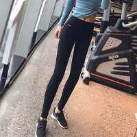 提臀高腰外穿运动裤女弹力紧身速干跑步瑜伽训练健身长裤