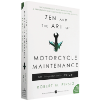 禅与摩托车维修艺术 英文原版 Zen and the Art of Motorcycle Maintenance 英文