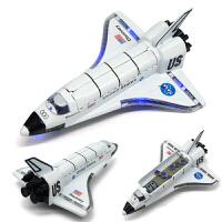 哥伦比亚 穿梭机 太空飞船 航天飞机 合金回力模型玩具
