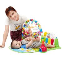 宝宝玩具0-1岁3-6-12个月脚踏钢琴婴儿架