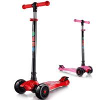 宝宝踏板车摇摆车三轮闪光儿童滑板车四轮滑滑车