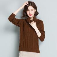 冬季新品女士针织毛衣打底衫 厂家现货女式羊毛衫的 毛衣