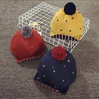 宝宝帽子1-2岁秋冬天棒球帽婴儿帽6-个月保暖鸭舌帽男女儿童帽