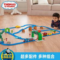 【当当自营】托马斯小火车电动系列之百灵顿码头多玩法轨道套装玩具DHC80