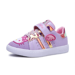 hellokitty凯蒂猫童鞋新款女童板鞋可爱休闲鞋天使公主鞋K76*807