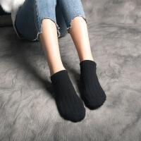 袜子 女 短袜船袜女纯棉女袜低帮浅口女士袜子冬季隐形棉袜糖果色 均码