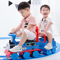 越诚托马斯小火车头套装轨道车电动小汽车儿童玩具男孩1-3岁可坐4 官方标配
