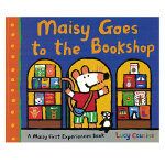 小鼠波波系列Maisy Goes to the Bookshop去书店 英文原版绘本 平装 幼儿早教启蒙认知绘本 儿童