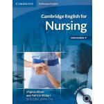 【预订】Cambridge English for Nursing Intermediate Plus Student