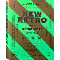 NEW RETRO现代复古怀旧风格 LOGO 品牌形象 包装设计 平面设计书籍