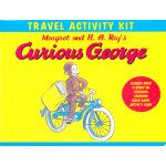 Cruious Georage Travel Activity Kit 好奇猴乔治去旅行-活动锦囊(精装礼品书) ISBN 9780547258751