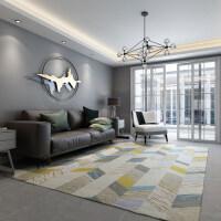 北欧简约现代几何地毯客厅茶几沙发地毯卧室床边满铺抽象地毯