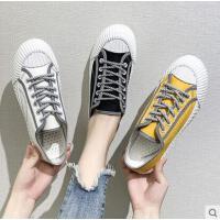 新款小白鞋子女潮鞋帆布鞋夏款学生网红百搭ulzzang板鞋