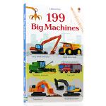 英文原版绘本 199 Big Machines 199台大机器(199张图片) 儿童启蒙图书纸板书 机器认知 亲子互动