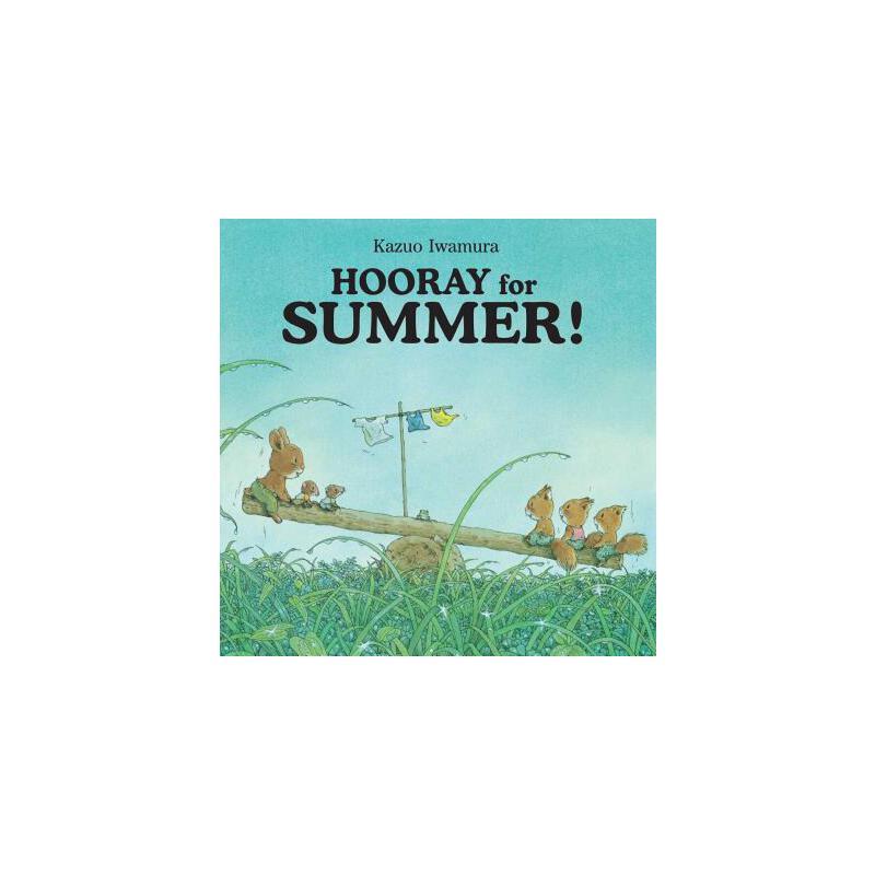 【预订】Hooray for Summer! 预订商品,需要1-3个月发货,非质量问题不接受退换货。