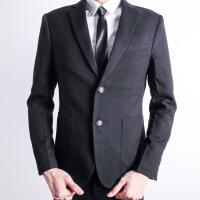 西装男套装修身韩版英伦风休闲外套职业正装男士帅气小西服套装