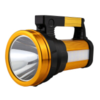 探照灯LED充电强光手提超氙气灯远射程户外钓鱼超亮家用大手电筒 S800-600W【升级版】 双侧灯