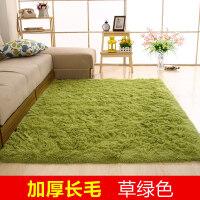 简约现代绒毛毯卧室满铺可爱客厅茶几垫沙发榻榻米床边地毯可定制T 2.0x3.0米 送门垫