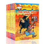 英文原版 老鼠记者21-30 Geronimo Stilton 进口章节桥梁小说 彩色插图漫画青少年冒险探险系列丛书