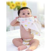 【支持礼品卡】纯棉纱布口水巾婴儿洗脸毛巾新生儿童宝宝小方巾手帕手绢喂奶纱巾i2y