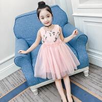 女童�B衣裙夏�b新款�n版�和�背心蕾�z公主裙�裙女孩洋�馊棺�