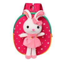 七夕礼物儿童幼儿园书包1-3-5岁男女童小书包可爱宝宝防走失卡通双肩背包