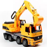 儿童大号工程套装翻斗车水泥搅拌车机男孩宝宝惯性玩具模型SN2204
