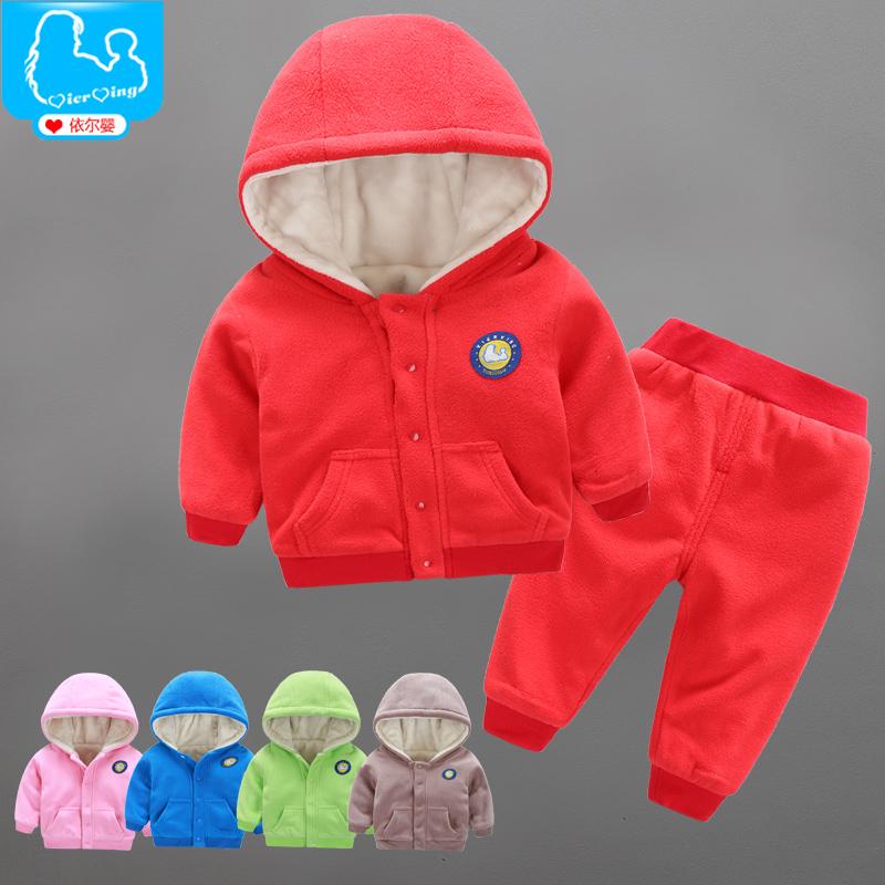 婴儿衣服秋冬季装男女婴幼儿外出服宝宝加绒加厚棉衣套装女0一1岁 发货周期:一般在付款后2-90天左右发货,具体发货时间请以与客服协商的时间为准