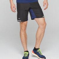 户外运动短裤男速干透气宽松健身跑步马拉松五分裤