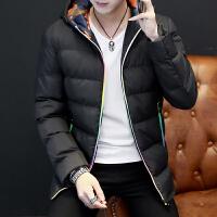 新款冬天男装冬季棉衣冬装外套男韩版修身连帽棉袄上衣服男装