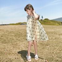 女童连衣裙夏装儿童装大童裙子小女孩夏款公主裙