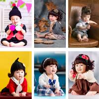 新款儿童摄影服装 影楼男女百天周岁宝宝写真拍照照相服饰