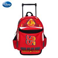 儿童拉杆书包 迪士尼男童学生防水双肩包 麦昆3D减负透气男孩背包